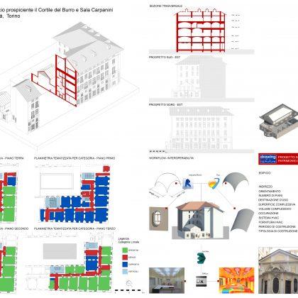 TOBIM_Palazzo di Città Edificio prospiciente il Cortile del Burro e Sala Carpanini